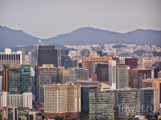 Сеул свысока, скрипка и немножко нервно / Южная Корея
