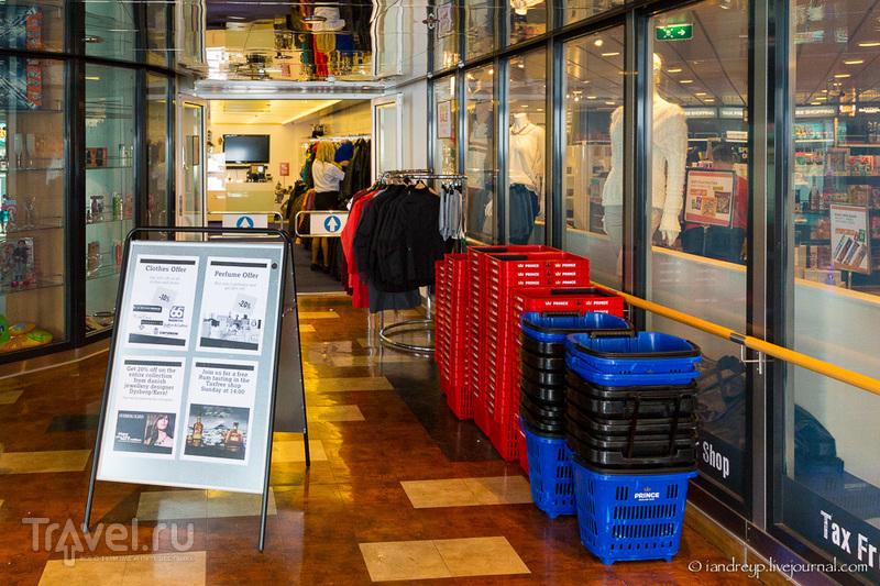 Паром Norröna / Фото из Исландии