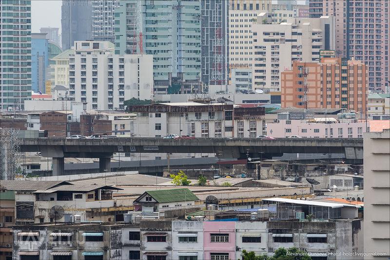 "Бангкок. Вид с гостиницы ""Prince Palace"" / Фото из Таиланда"