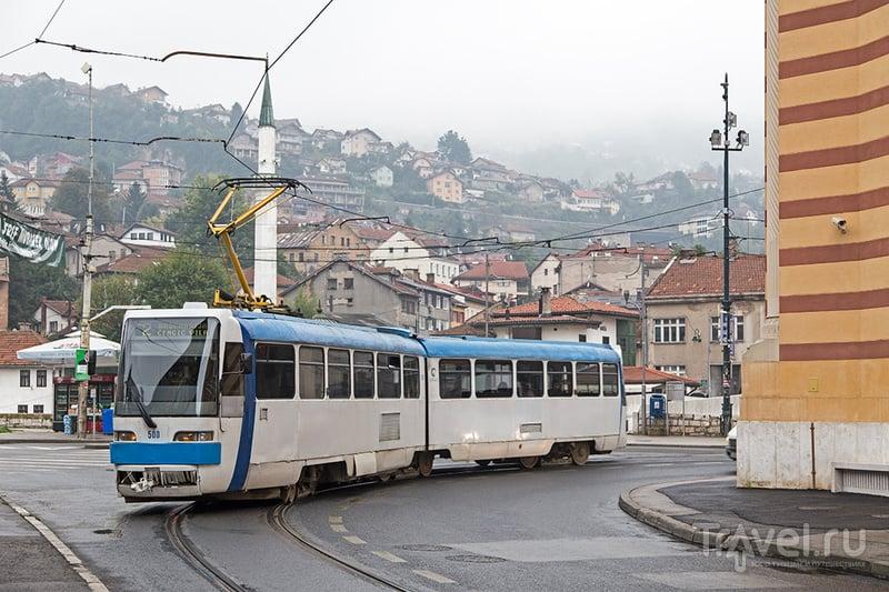 Сараево, современный город / Фото из Боснии и Герцеговины