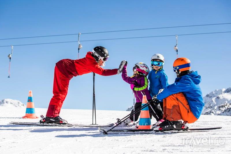 Штубайталь встречает юных горнолыжников
