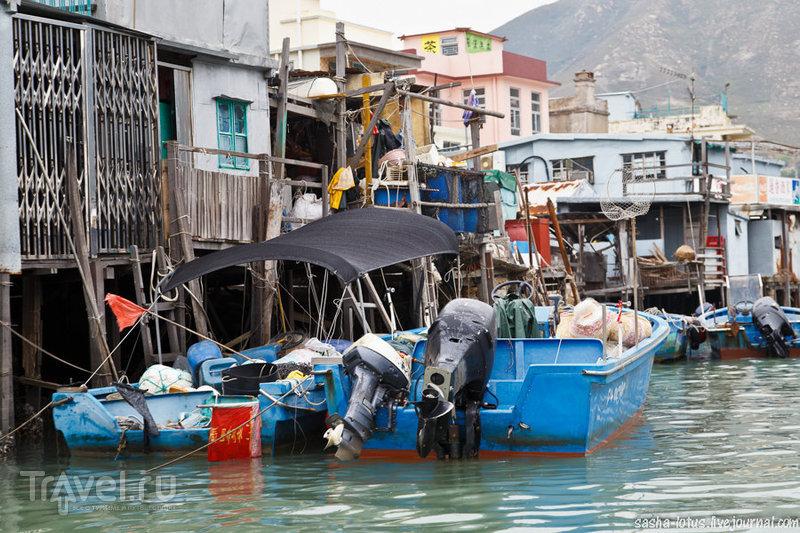 Рыбацкая деревушка Тай О в Гонконге / Гонконг - Сянган (КНР)