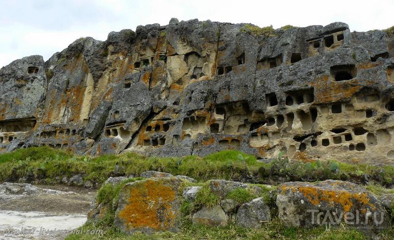 Un gran viaje a America del Sur. Перу. Кахамарка. Ventanillas de Otuzco / Перу