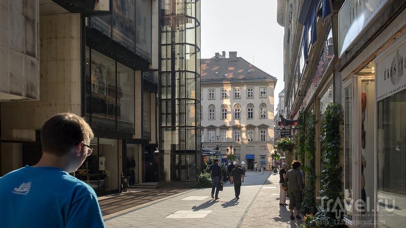 Всё смешалось на улице Ваци... / Венгрия
