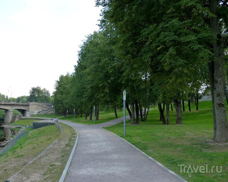 По берегам реки Псковы. От Нижних решеток до Троицкого моста / Фото из России