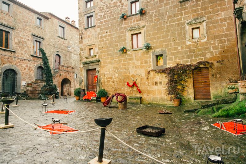 Чивита ди Баньореджо (Civita di Bagnoreggio) / Фото из Италии