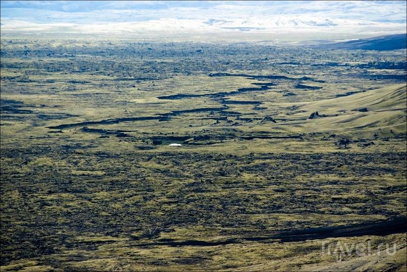 Лавовые поля Lakagigar / Фото из Исландии