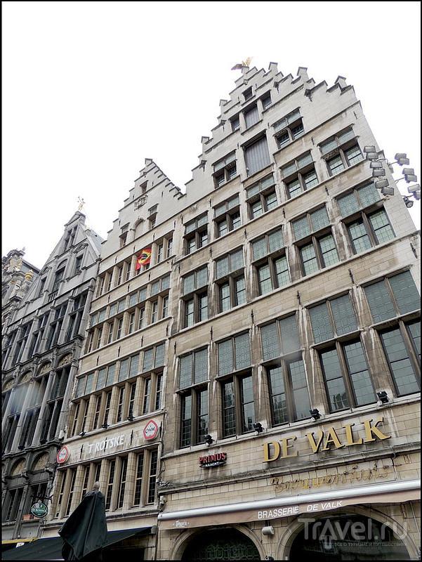 Антверпен. Grote Markt, Suikerrui / Фото из Бельгии