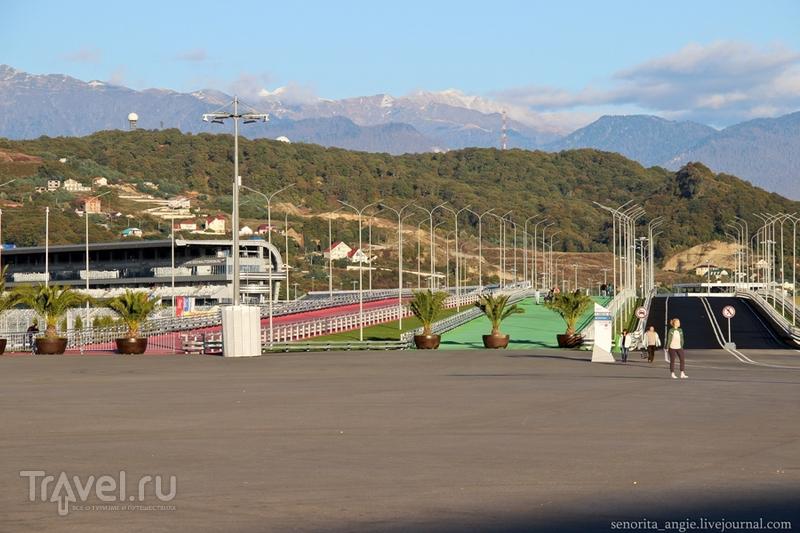 Олимпийский парк после Формулы 1 и спустя год после Олимпиады / Россия