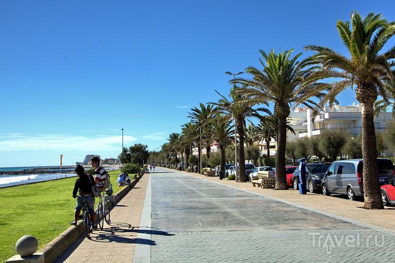 Курортный городок Ситжес / Фото из Испании