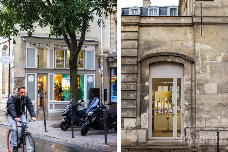 Парфюмерные бутики Парижа / Франция