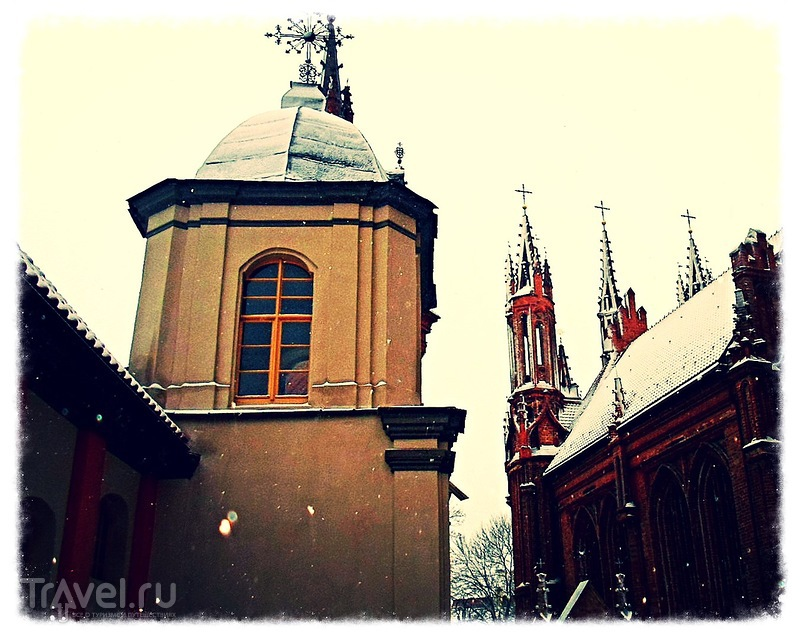 Волшебство предновогоднего Вильнюса / Литва