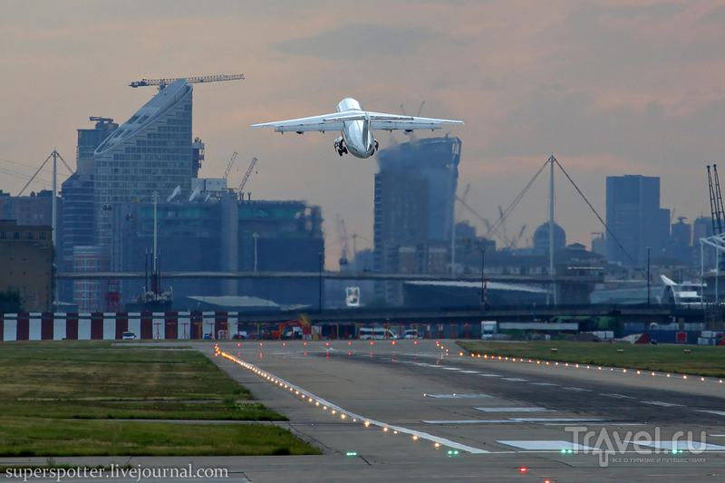 London City Airport / Фото из Великобритании