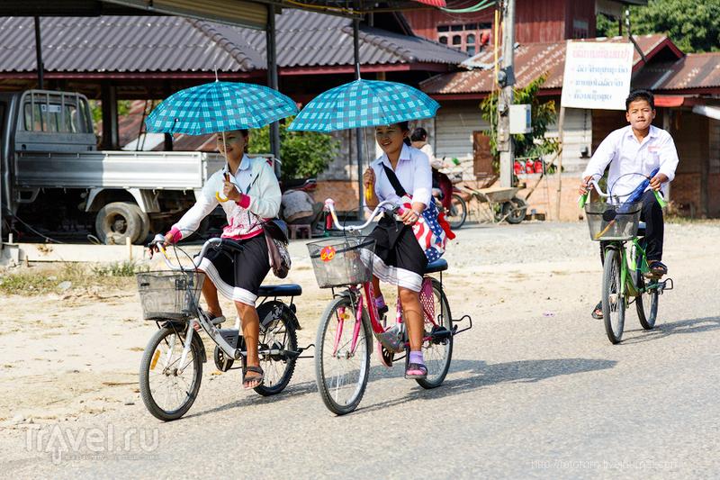 Лаос. Веселые тетки! / Лаос