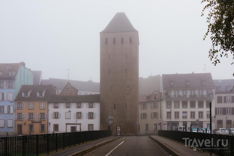 Страсбург: туман в Маленькой Франции / Фото из Франции