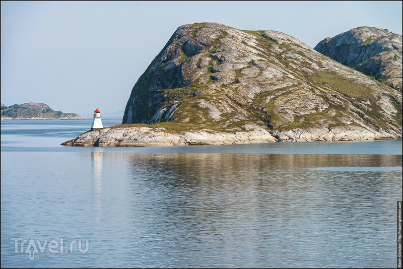 К Лофотенским островам / Фото из Норвегии