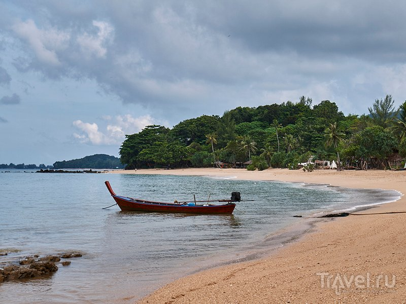 Ко Ланта. Остров, море, ракушки и мотобайк / Таиланд