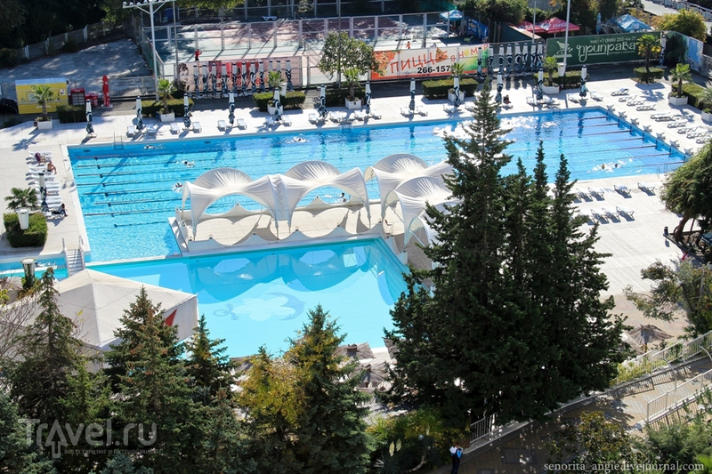 Самая легендарная гостиница Сочи / Россия