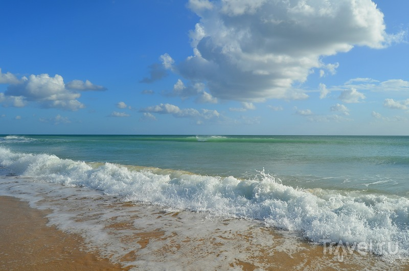 Любимый пляж Порто де Мош в ноябре / Португалия