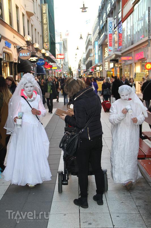 Прогулка по Стокгольму перед Хэллоуином / Швеция