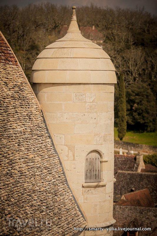 Дордонь, Замок Бейнак / Фото из Франции