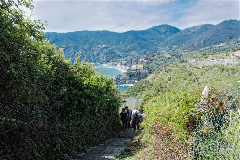 Национальный заповедник Cinque terre / Фото из Италии