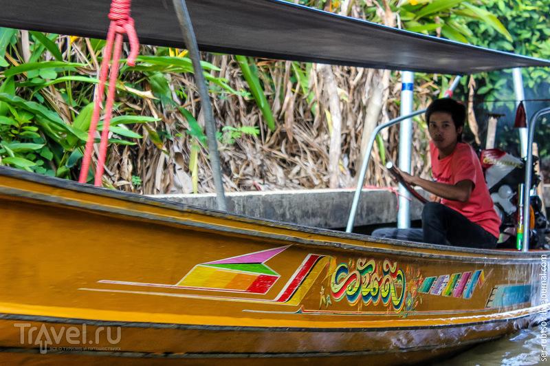 Плавучий рынок Дамноен Садуак / Таиланд