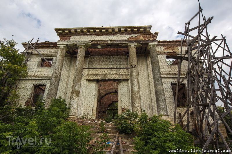 Хмелинец. Покровская церковь, усадьба Викулиных / Россия