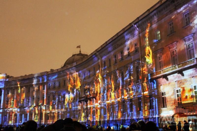 "3D-шоу ""Эрмитаж - Бал истории!"" Санкт-Петербург / Россия"