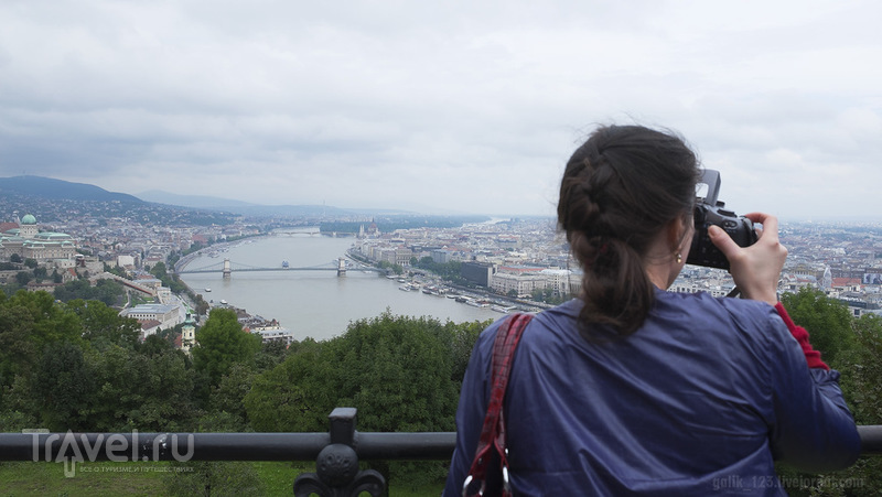Смотровая площадка на горе Геллерт / Фото из Венгрии