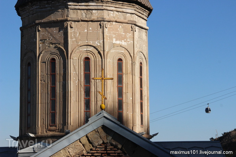 Тбилиси и его крепость Нарикала / Грузия