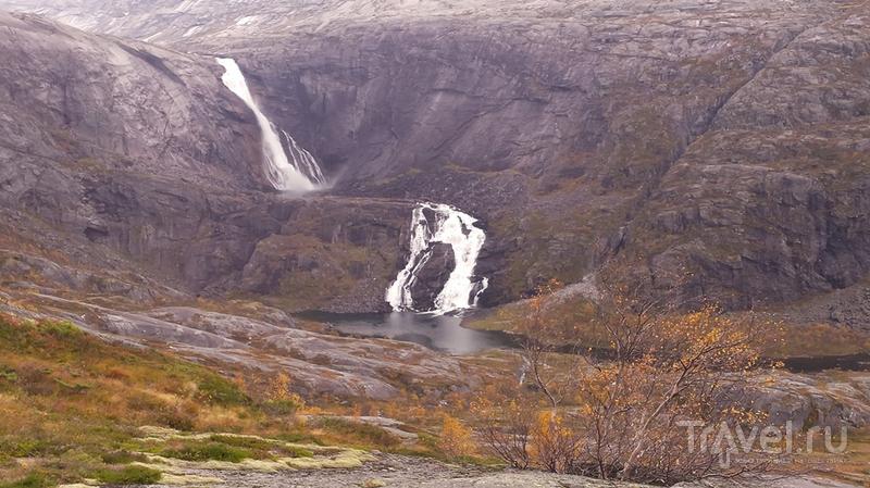 Долина Husedalen в октябре / Норвегия