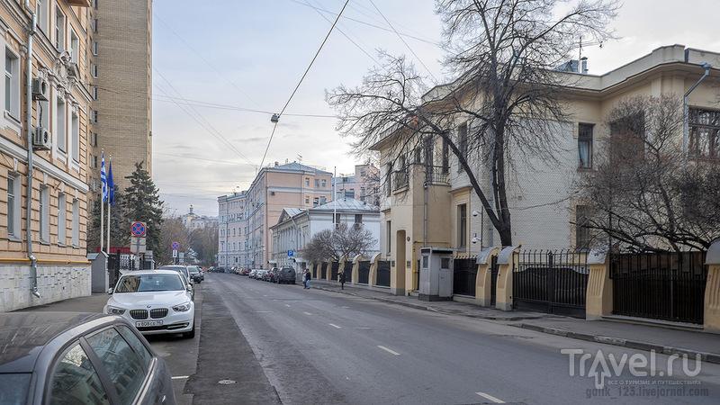Прогулка по Спиридоновке / Россия