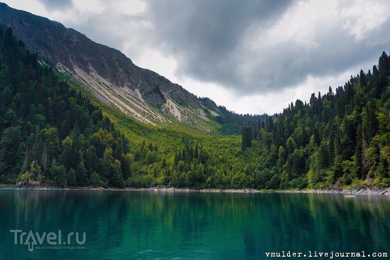 За Рицей, над облаками / Фото из Абхазии