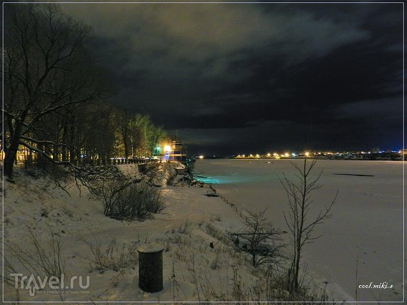 Природа парка 40 лет ВЛКСМ в городе Волхове / Россия