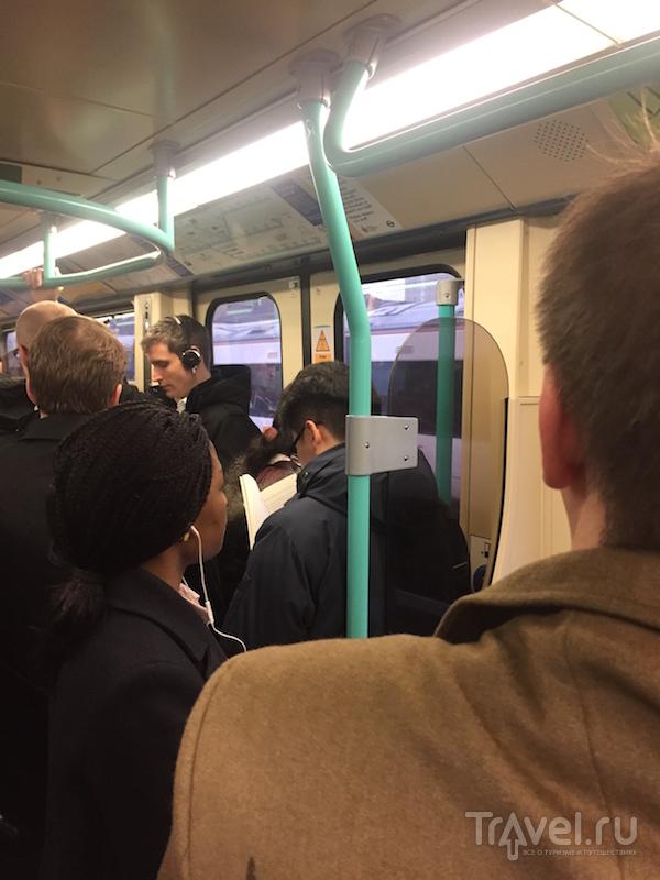 Как я езжу на работу каждый день в Лондоне / Великобритания