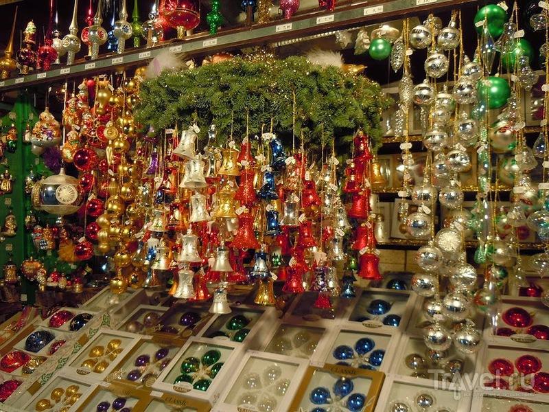 Pождественская ярмарка в Мюнхене / Германия