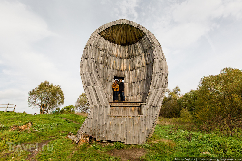 Путешествие в арт-деревню Никола-Ленивец / Россия