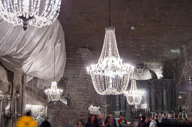 Копальня соли в Величке / Польша