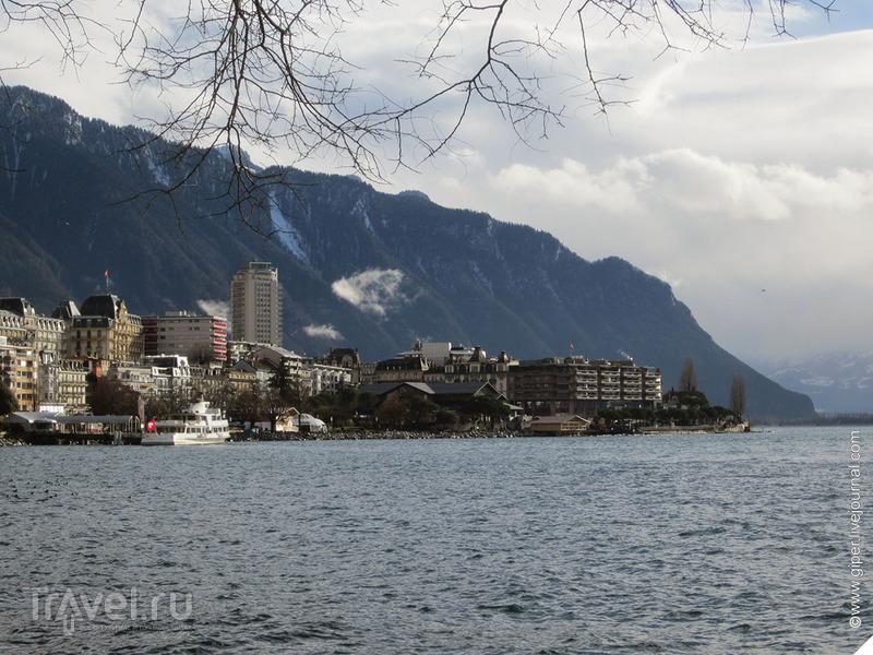 Монтрё - город пальм / Швейцария