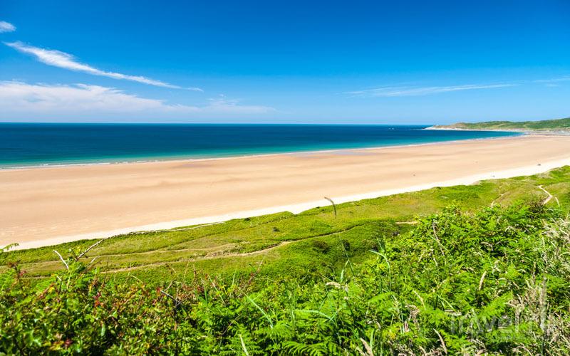 Пляж Вулакомб / Великобритания
