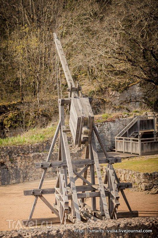 Дордонь, замок Кастельно / Фото из Франции
