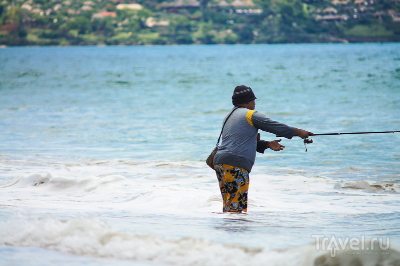 Бали. Пляж Джимбаран / Фото из Индонезии