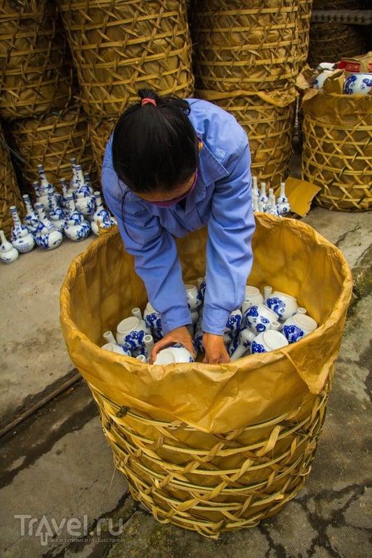 Бат Чанг - деревня гончаров в Ханое / Вьетнам