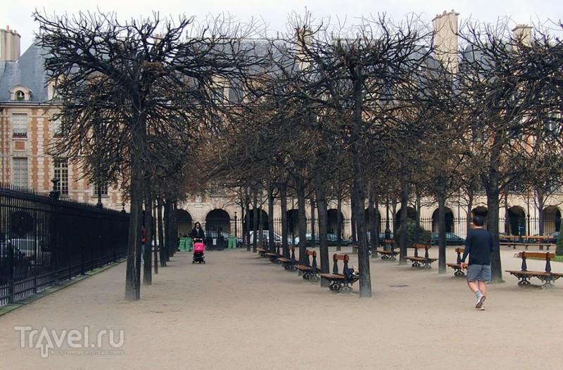 Криминальный Париж. Площадь Вогезов / Франция