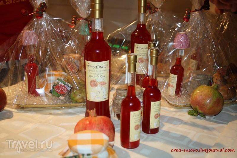 Праздник опунции в сицилийской деревне Роккапалумба / Италия