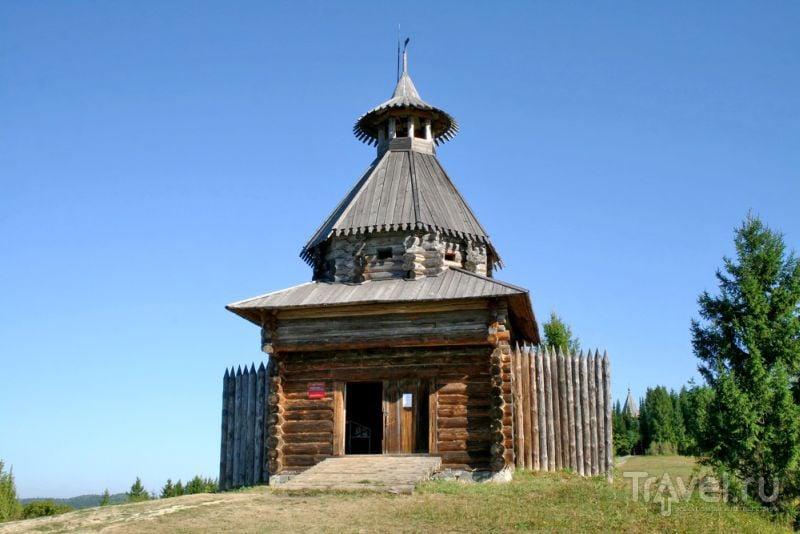 "Сторожевая башня в музее ""Хохловка"""