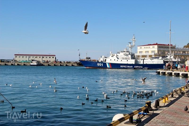 Морская сторона Сочи / Россия