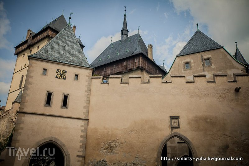 Карлштейн: замок и город / Чехия