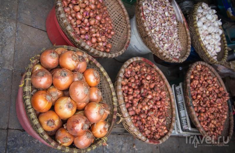 Рынок в Ханое / Вьетнам